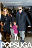Jennifer Lopez, Casper Smart, and Emme Anthony had a day of shopping in Paris.