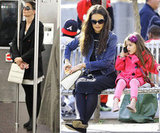 City Girl Suri Cruise Gets a Cell Phone as Mom Katie Rides the Subway