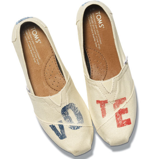 TOMS Presidential Election Shoes 2012