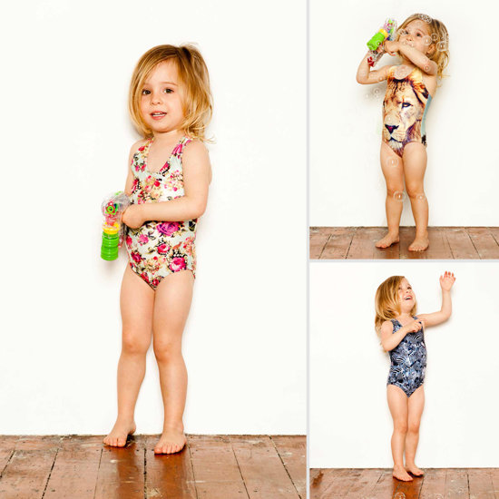 Warmer Climates, Anyone? Bold Swimsuits For Mini Fashionistas