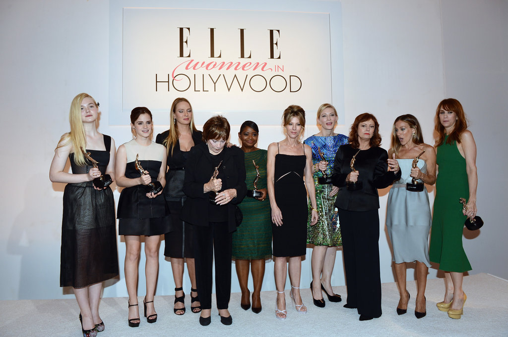 All the Action From Inside Elle's Women in Hollywood Awards