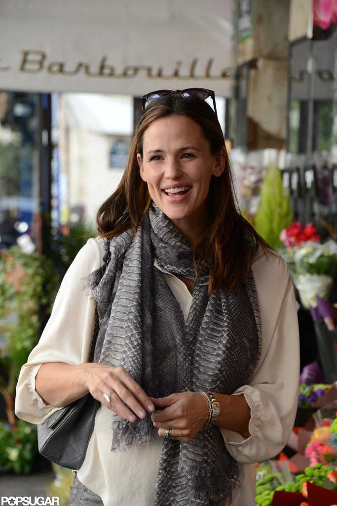 Jennifer Garner Makes a Smiley Visit to Isabel Marant's Paris Shop