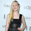 Elle Fanning &amp; Emma Watson at Elle Women in Hollywood Video
