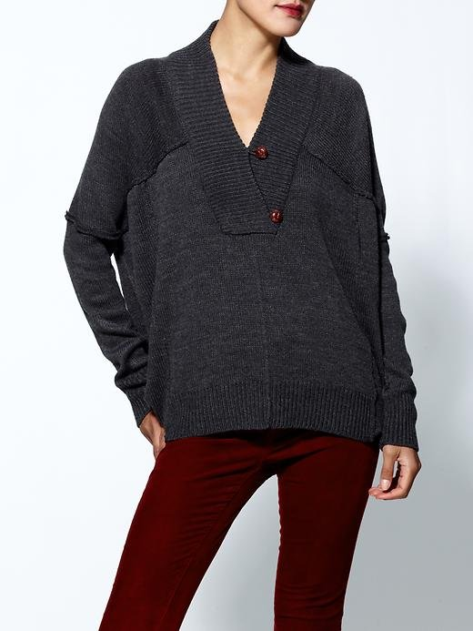 We love the more relaxed fit of this RD Style V-neck sweater ($69), and the button detail reminds us of a nautical-inspired toggle. Can't you imagine yourself wearing this fireside?
