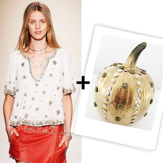 Here's How to Make Your Own Designer-Inspired Halloween Pumpkin