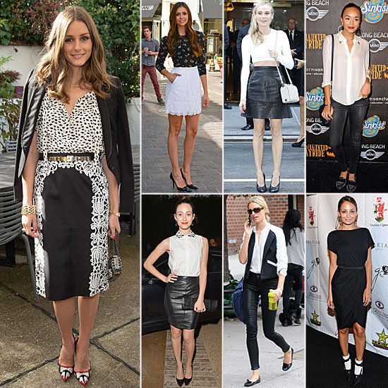 Best Black and White Outfits