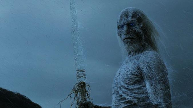 A White Walker From Game of Thrones