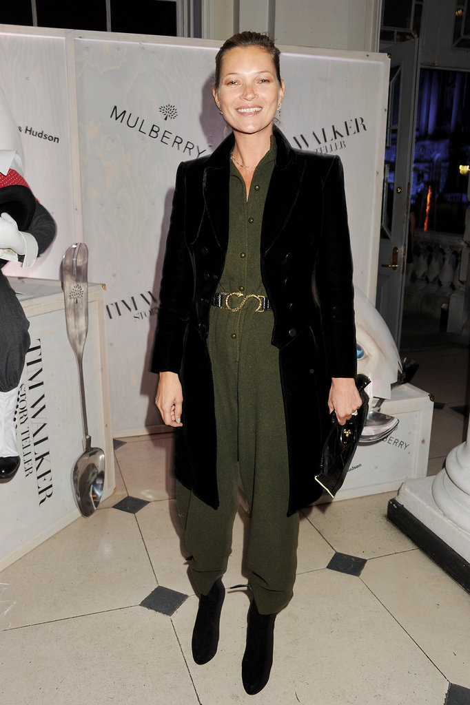 Kate Moss Dons a Jumpsuit For an Artsy Night With Jamie Hince