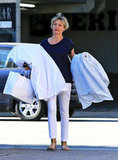 Cameron Diaz stepped out in California to go shopping.