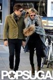 Kate Moss and Jamie Hince were in London.