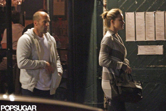 Jason Statham Steps Out in NOLA For Date Night With Rosie