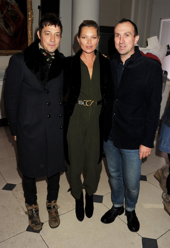 Kate Moss, Jamie Hince, and Tim Walker met up at Somerset House.