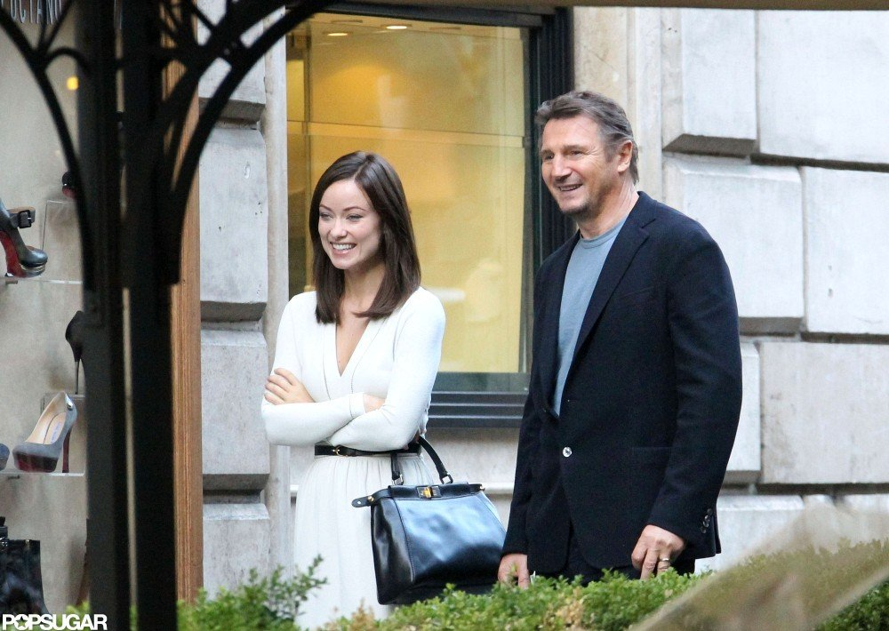 Olivia Wilde and Liam Neeson filmed in Rome.