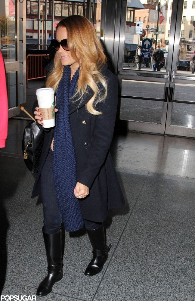 Lauren Conrad had her hair curled.