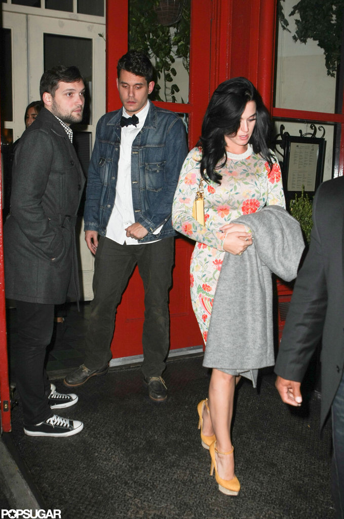 Katy Perry had dinner with John Mayer in NYC.