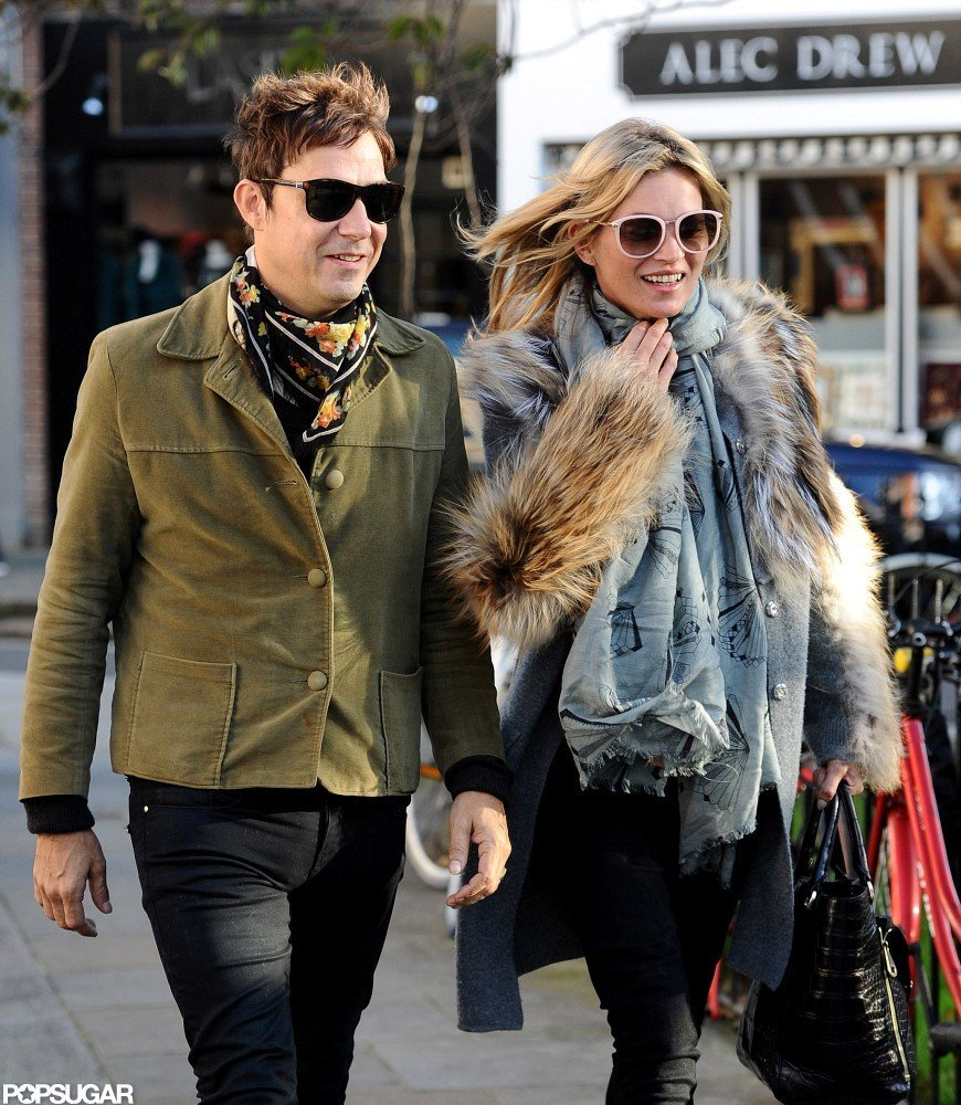 Kate Moss and husband Jamie Hince enjoyed some time together in London