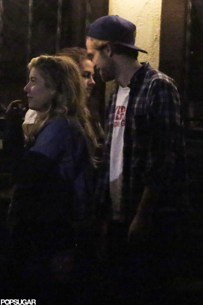 Robert Pattinson and Kristen Stewart got close in LA.