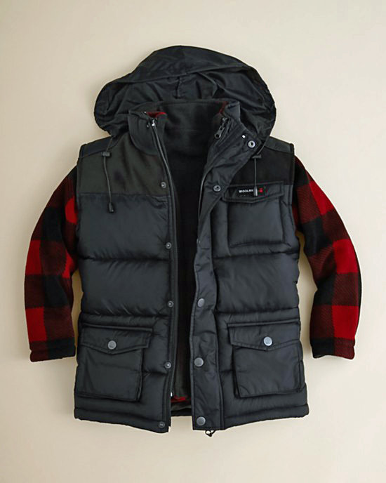 Woolrich 3-1 Plaid Jacket
