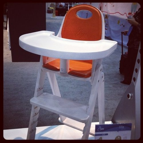 Svan's new Lilla chair is a departure from the company's popular Svan Baby High Chair. It is smaller than the original and comes with a cleanable cushion. It will be the only bentwood chair under $200.