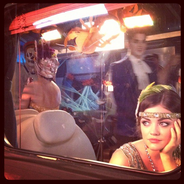 Lucy Hale teased Pretty Little Liars' Halloween episode. Source: Instagram user lucyhale89