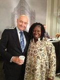 What is Whoopi Goldberg doing at 666 Park Avenue's The Drake?  Source: Twitter user OQuinnTerry
