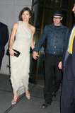 Justin Timberlake was by Jessica Biel's side in May 2009 in NYC.