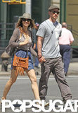 Justin Timberlake and Jessica Biel held hands during a May 2010 stroll in NYC.