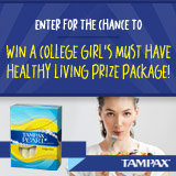 Enter to win the healthy college living giveaway!