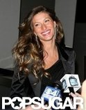 Gisele and Alessandra Toast Mario Testino in Boston