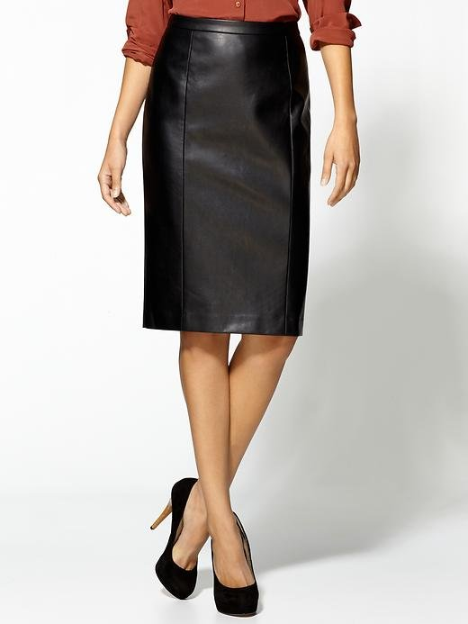 A Sexy Black Pencil Skirt