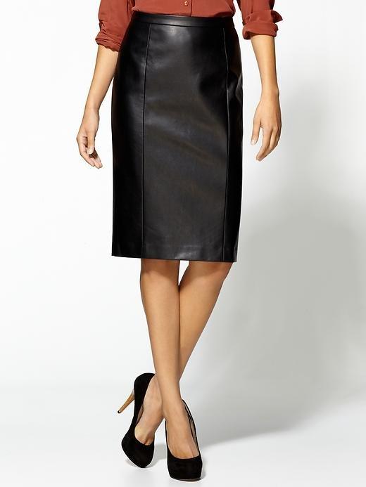 A Sexy Black Pencil Skirt