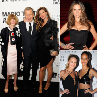 Gisele Bundchen at Mario Testino Photography Exhibit
