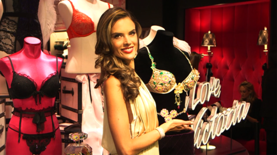 Alessandra Ambrosio Selected to Wear Victoria's Secret's $2.5 Million Fantasy Bra