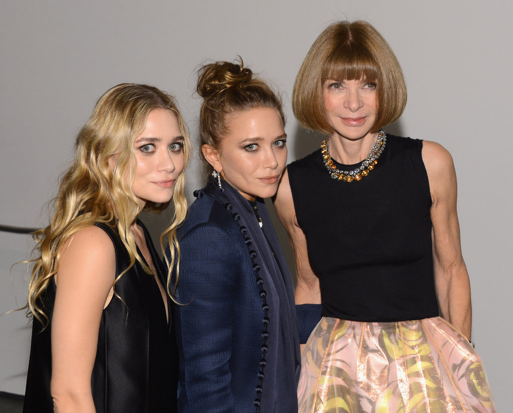 Anna Wintour, Ashley Olsen, and Mary-Kate Olsen stepped out in NYC for the awards.