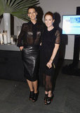 Julianne Moore and Linda Evangelista attended WSJ Magazine's Innovator of the Year Awards in NYC.