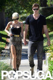 Miley Cyrus and Liam Hemsworth were together.