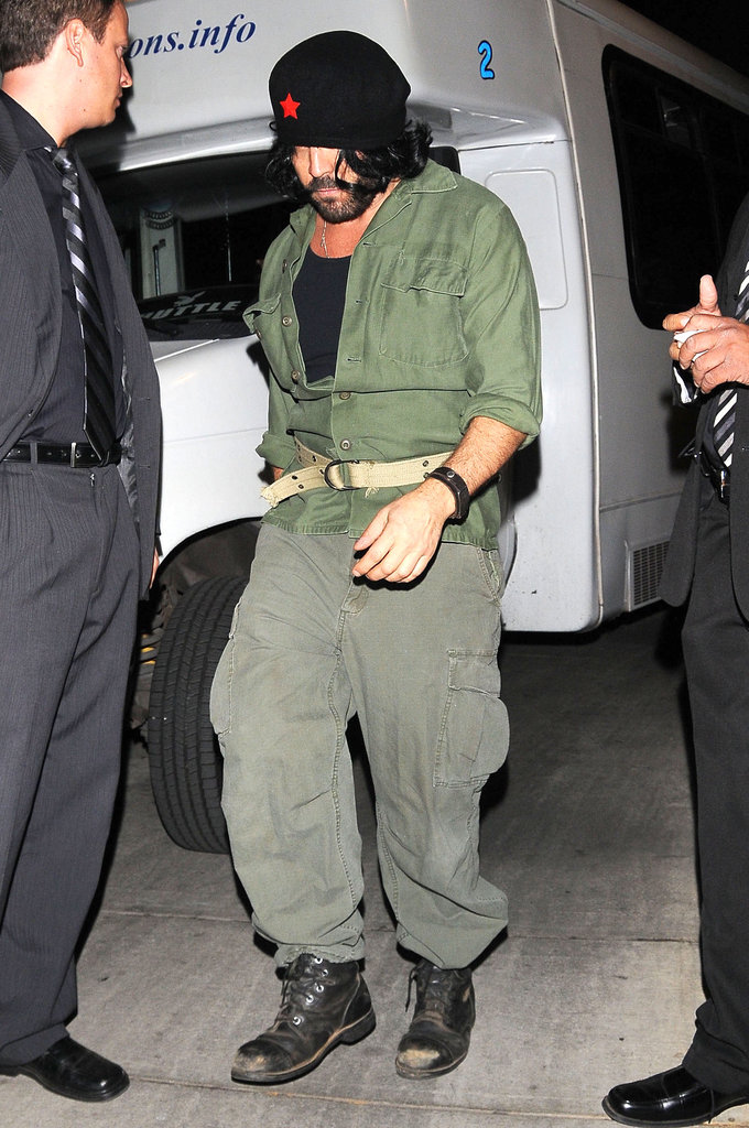 Jeremy Piven went as Che Guevara just four years after Benicio del Toro wore the look in the biopic Che.
