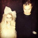 Lauren Conrad and William Tell posed for a spooky picture. Source: Instagram user laurenconrad