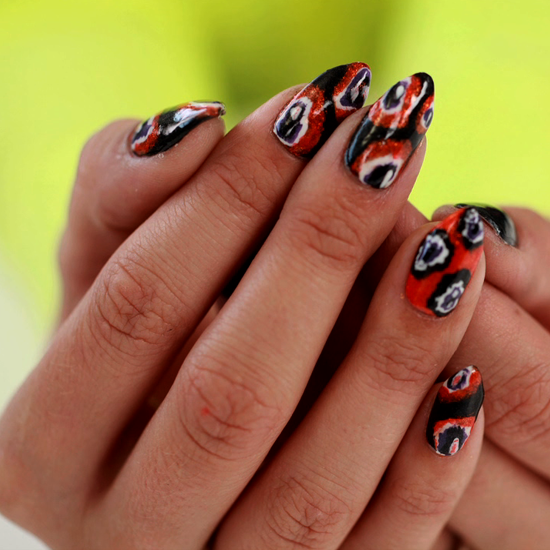 Dress Up Your Nails With a Runway-Inspired Halloween Manicure