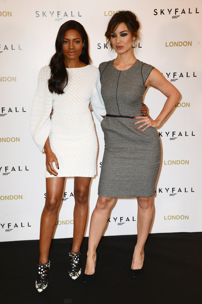 The Sexy Skyfall Cast Brings 007 to London