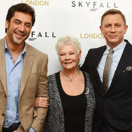 Skyfall Cast Pictures at London Photo Call