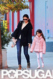 Katie Holmes and Suri Cruise stepped out in NYC.