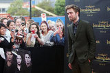 Robert Pattinson was at a fan event for Breaking Dawn - Part 2 in Sydney.