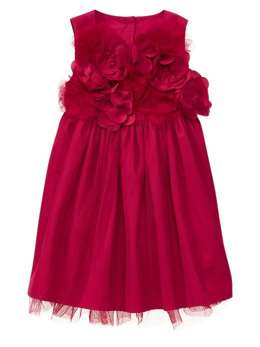 Gap Rosette Tulle Dress