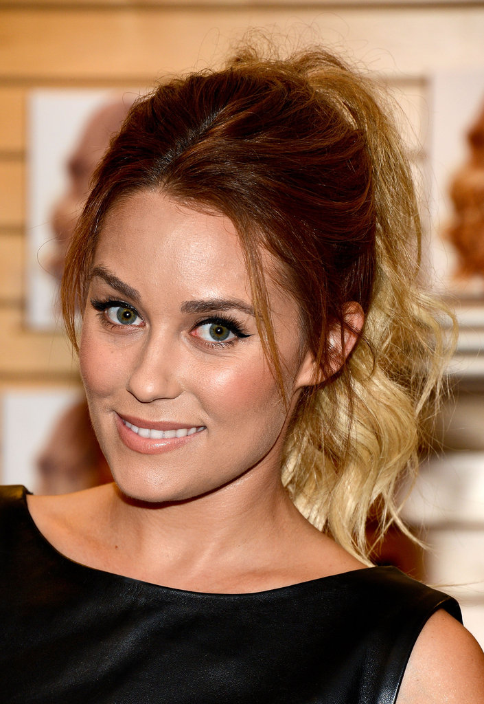 Lauren Conrad promoted her books in a Barnes & Noble in LA.