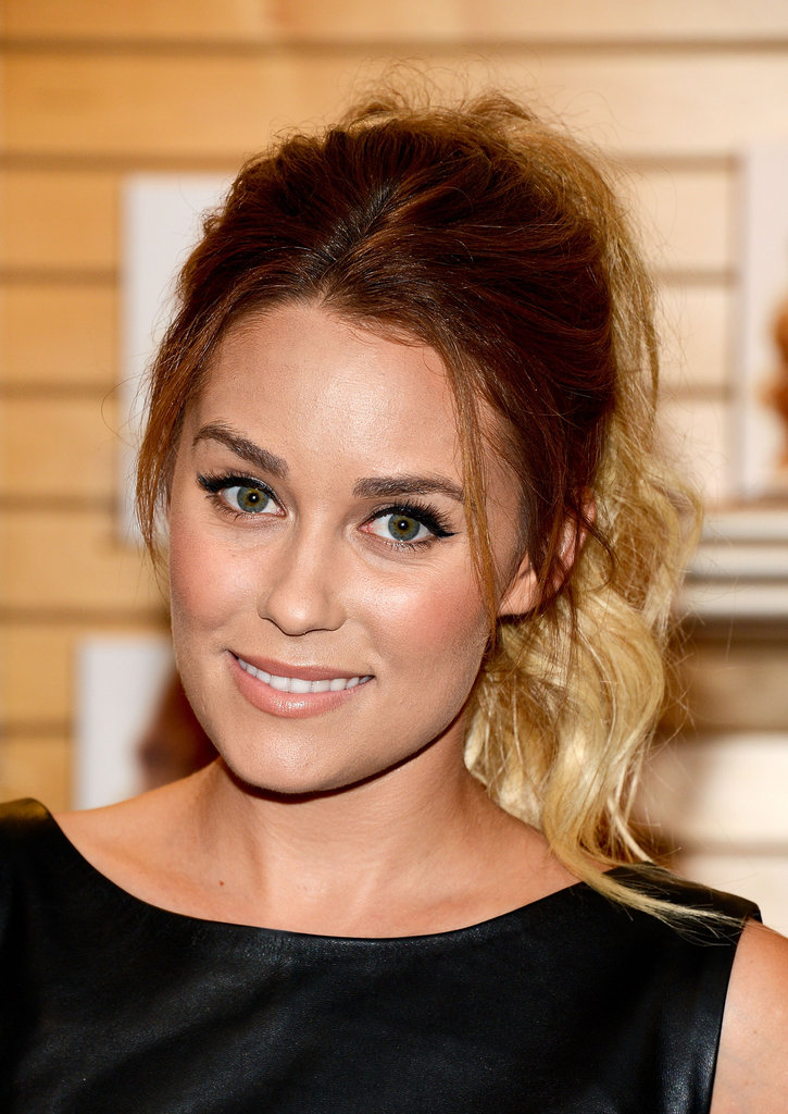 Lauren Conrad promoted her books at a Barnes & Noble in LA.