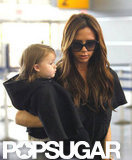 Victoria Beckham and Harper Beckham headed out of NYC.