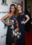 Kerry Washington and Amy Adams posed for photos at the gala.