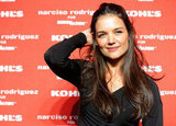 Katie Holmes looked happy to support Narciso Rodriguez's Kohl's collection launch party in NYC.