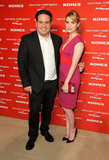 Emma Roberts posed with designer Narciso Rodriguez in NYC.